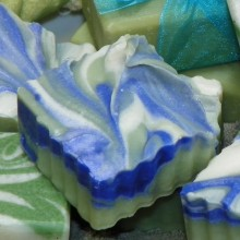 Soap with Decorative Peaks