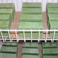 Soap Bars Drying on the Soap Rack