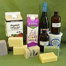 Water Substitution in Soapmaking